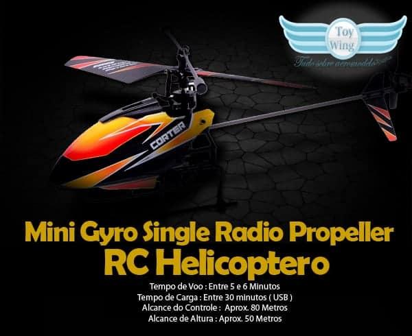 v911 Helicoptero 4 ch